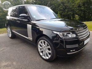 Range Rover montant laqué Autobiography detailing rénovation terne oxydée carrosserie cuir polish cire sealant Alchimy7 rupes Meguiar's car cosmetic