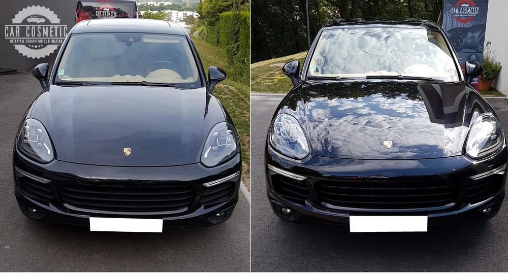 Detailing Porsche Cayenne Car Cosmetic by Techni-Clean résultat final
